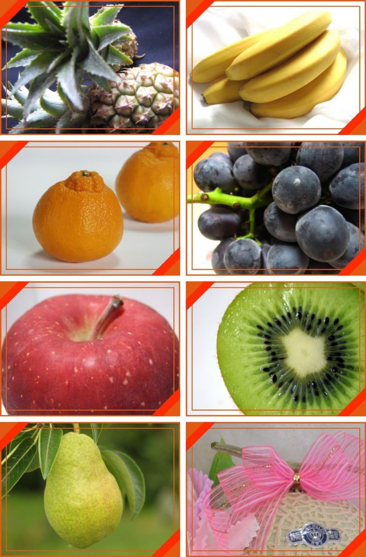 フルーツ専門店のフルーツ盛合せ