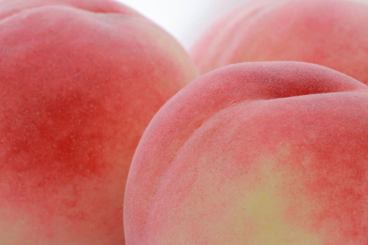 美味しい福島の桃