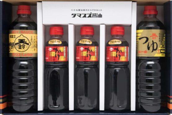 タマスズ醤油 味富士 玉一番 かけ醤油 T03セット